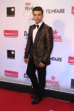 Karan Johar at the Red Carpet Of Filmfare Glamour & Style Awards on 1st Dec 2017