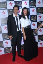 Arjun Rampal, Meher Jessia at the Red Carpet of Star Screen Awards in Mumbai on 3rd Dec 2017 (132)_5a24cd932c523.JPG