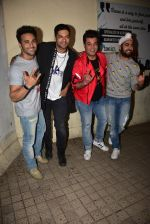 Pulkit Samrat, Ali Fazal, Varun Sharma, Manjot Singh at the Special Screening Of Film Fukrey Returns on 7th Dec 2017 (16)_5a2a3c87aae8b.JPG