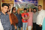 Dhruv Sanghavi, Janak Sanghavi, Dilip Sen, Sameer Anjaan, Javed Ali, Shri.Neeraj Kumarji , Rajeev Srivastava at the recording of Song For The Film Shyam Sunder Shreenath Ji-The God Krishna on 13th Dec 2017_5a312d1faa657.JPG