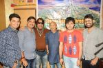Dhruv Sanghavi, Rakesh Sharma , Dilip Sen, Sameer Anjaan, Javed Ali and Rajeev Srivastava at the recording of Song For The Film Shyam Sunder Shreenath Ji-The God Krishna on 13th Dec 2017_5a312d20a4c2b.JPG