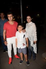 Sonu Nigam, Madhurima Nigam spotted at Yauatcha Mumbai on 15th Dec 2017 (34)_5a352915dd36d.JPG