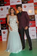 Gurmeet Choudhary, Debina Banerjee at the Red Carpet Event Of Zee Cine Awards 2018 on 19th Dec 2017 (86)_5a3a0c4a53290.JPG