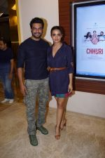 Sharad Kelkar, Surveen Chawla  at the Screening Of Hindi Short Flim Chhuri on 19th Dec 2017 (74)_5a3a1b05dcb81.JPG