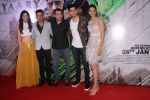 Sidharth Malhotra, Manoj Bajpayee, Rakul Preet Singh, Pooja Chopra, Neeraj Pandey at the Trailer Launch of Film Aiyaary on 19th Dec 2017 (63)_5a39fe7fac5dc.JPG