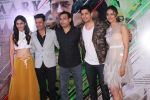 Sidharth Malhotra, Manoj Bajpayee, Rakul Preet Singh, Pooja Chopra, Neeraj Pandey at the Trailer Launch of Film Aiyaary on 19th Dec 2017 (67)_5a39fe803c515.JPG