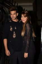 Anusha Dandekar, Karan Kundra at Bipasha Basu's Birthday Party in Mumbai on 7th Jan 2018