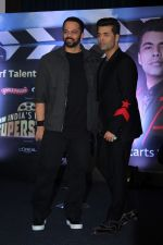 Karan Johar, Rohit Shetty at the Press Conference Of India_s Next Superstars on 6th Jan 2018 (24)_5a530e7ab37f6.JPG
