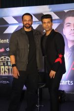 Karan Johar, Rohit Shetty at the Press Conference Of India_s Next Superstars on 6th Jan 2018 (39)_5a530e8691e16.JPG