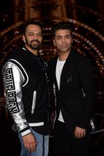 Karan Johar, Rohit Shetty on the set of India_s next superstar on 6th Jan 2018 (26)_5a531daccd3d4.JPG
