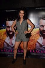 Shruti Haasan at the Special Screening Of Film Kaalakaandi on 8th Jan 2018