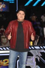Sajid Khan at Super Dancer Show On Location on 22nd Jan 2018 (3)_5a66d933a5a6c.jpg