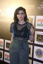 Mannara Chopra At 24th SOL Lions Gold Awards on 24th Jan 2018 (35)_5a69ce8788ede.jpg