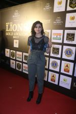 Mannara Chopra At 24th SOL Lions Gold Awards on 24th Jan 2018 (36)_5a69ce883d52c.jpg