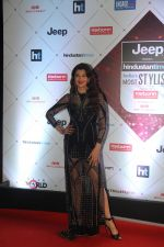 Sangeeta Bijlani at the Red Carpet Of Ht Most Stylish Awards 2018 on 24th Jan 2018 (19)_5a69e86100849.jpg