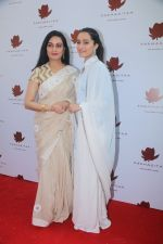 Shraddha Kapoor, Padmini Kolhapure at the Special Event Of Padmasitaa,A Clothing Line Of Padmini Kolhapure And Sita Talwalkar in Riviera Garden on 25th Jan 2018 (25)_5a6ad67610cb6.jpg