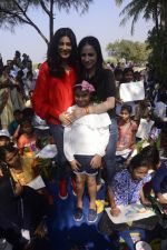 Sushmita Sen Celebrate Republic Day at Rouble Nagi_s Art Camp With Kids on 26th Jan 2018 (72)_5a6c21393344a.JPG