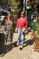 Esha Gupta with her sister spotted at Pali Village Cafe,Bandra on 1st Feb 2018 (3)_5a770cbd479f0.JPG