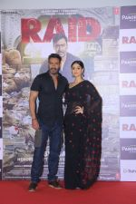 Ajay Devgn, Ileana D_Cruz at the Trailer launch of film Raid at PVR, Juhu,Mumbai on 5th Feb 2018 (76)_5a79667db2f49.JPG