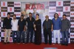 Ajay Devgn, Ileana D_Cruz, Saurabh Shukla,Raj Kumar Gupta, Bhushan Kumar at the Trailer launch of film Raid at PVR, Juhu,Mumbai on 5th Feb 2018 (81)_5a796681a31e4.JPG
