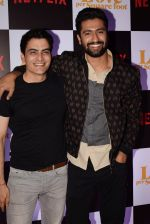 Manav Paul, Vicky Kaushal at the Screening of Ronnie Screwvala's film Love per square foot in Cinepolis, Andheri, Mumbai on 10th Feb 2018