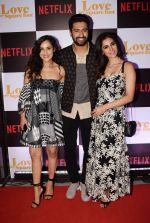 Vicky Kaushal, Angira Dhar at the Screening of Ronnie Screwvala's film Love per square foot in Cinepolis, Andheri, Mumbai on 10th Feb 2018