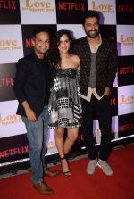 Vicky Kaushal, Angira Dhar, Ronnie Screwvala, Anand Tiwari at the Screening of Ronnie Screwvala's film Love per square foot in Cinepolis, Andheri, Mumbai on 10th Feb 2018