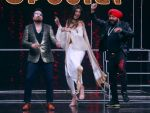 Daler Mehndi, Mika Singh, Shilpa Shetty On The Sets Of Reality Show Super Dancer 2 on 12th Feb 2018
