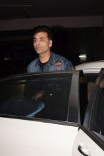 Karan Johar at the Screening Of Film Aiyaary on 12th Feb 2018