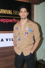 Sidharth Malhotra at the launch of Carnival cinema Lounge in carnival cinema, Andheri on 16th Feb 2018