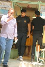 John Abraham spotted at kitchen garden restaurant in bandra, mumbai on 19th Feb 2018 (1)_5a8bcf1477fd0.JPG