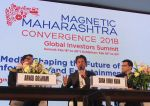 Shahrukh Khan attends the Media shaping the future & entertainment in Magnetic Maharshtra in bkc Mumbai on 20th Feb 2018 (15)_5a8d35f255ae7.jpg