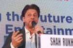 Shahrukh Khan attends the Media shaping the future & entertainment in Magnetic Maharshtra in bkc Mumbai on 20th Feb 2018 (17)_5a8d35f932785.jpg