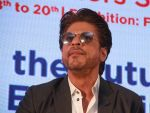 Shahrukh Khan attends the Media shaping the future & entertainment in Magnetic Maharshtra in bkc Mumbai on 20th Feb 2018 (23)_5a8d37e25dc5e.jpg