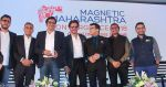 Shahrukh Khan attends the Media shaping the future & entertainment in Magnetic Maharshtra in bkc Mumbai on 20th Feb 2018 (27)_5a8d36177397e.jpg