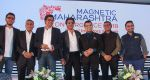 Shahrukh Khan attends the Media shaping the future & entertainment in Magnetic Maharshtra in bkc Mumbai on 20th Feb 2018 (28)_5a8d361aac9f9.jpg