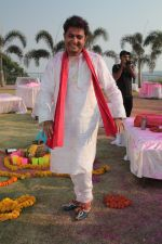 Sukhwinder Singh On Location Shoot of Holi Song Rango Ka Atom Boom on 20th Feb 2018 (45)_5a8d38b3d8be1.JPG