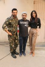 John Abraham, Diana Penty during the promotional shoot for the film Parmanu at Mehboob studio, Bandra (20)_5a9835b59330e.JPG