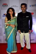 Shaina NC & Arbaz Khan at Caring with Style Fashion Show (1)_5a9810ad4ab50.JPG