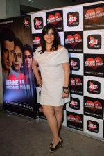 Ekta Kapoor at the Screening of Alt Balaji's Kehne Ko Humsafar Hain on 13th March 2018