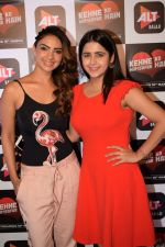 Palak Jain, Pooja Banerjee at the Screening of Alt Balaji's Kehne Ko Humsafar Hain on 13th March 2018