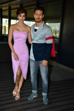 Tiger Shroff, Disha Patani Spotted At Nadiadwala Office Promoting Baaghi 2 on 21st March 2018