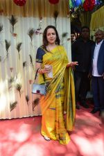 Hema Malini at The auspicious occasion of Annaprasanna on 22nd March 2018