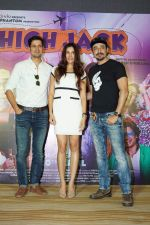 Sumeet Vyas, Sonnalli Seygall, Mantra Mugdh at the Trailer Launch Of Movie High Jack on 27th March 2018 (56)_5abb567e3a736.JPG