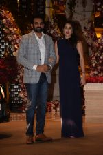 Zaheer Khan, Sagarika Ghatge at  the engagement party of Akash Ambani & Shloka Mehta in Ambani Residence on 26th March 2018  (33)_5abb4d5c5d5f7.JPG