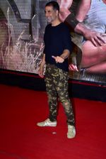 Akshay Kumar at the Special Screening Of Film Baaghi 2 on 29th March 2018
