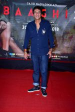 Chunky Pandey at the Special Screening Of Film Baaghi 2 on 29th March 2018