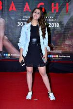Nupur Sanon at the Special Screening Of Film Baaghi 2 on 29th March 2018