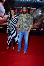 Sunil Shetty, Mana Shetty at the Special Screening Of Film Baaghi 2 on 29th March 2018
