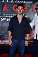Tiger Shroff at the Special Screening Of Film Baaghi 2 on 29th March 2018